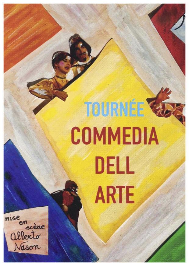 Commedia dell'Arte im Lavendelfeld. Ein Workshop im südfranzösischen Drôme